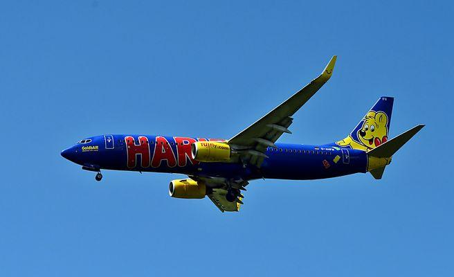 TUIfly - der GoldbAir - HARIBO - Flieger