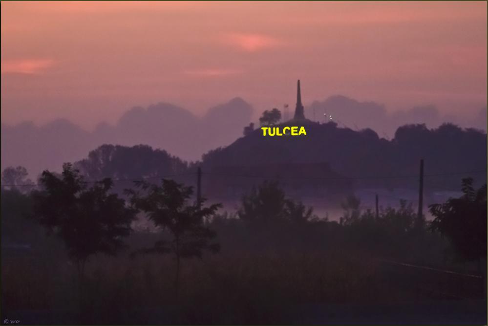 Tulcea im Morgennebel