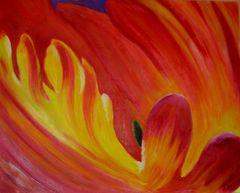 Tulpe in Öl....