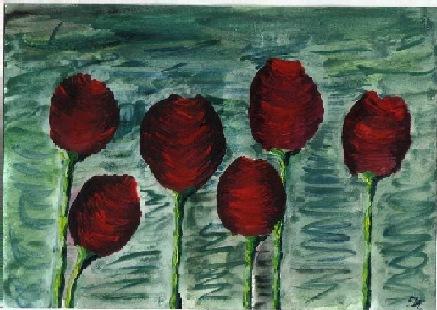 Tulpen in einem anderen Bild