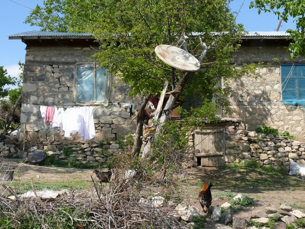 Tunceli Cemiºgezek ein Dorf Haus