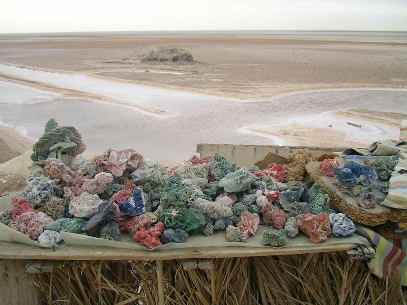 Tunesien, alles aus Salz und Wasser
