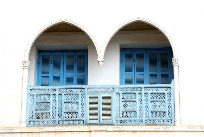 Tunesien Blau - Weiss