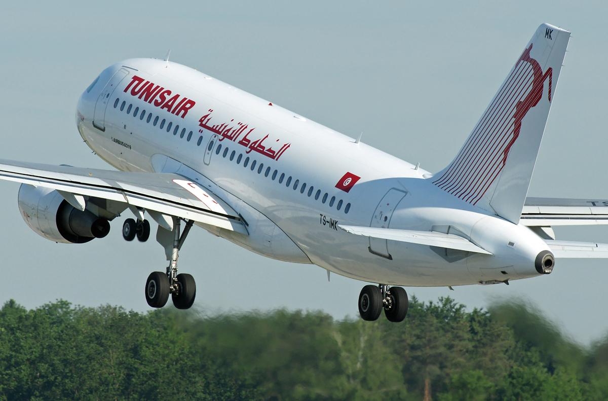 Tunisair Airbus A319-114