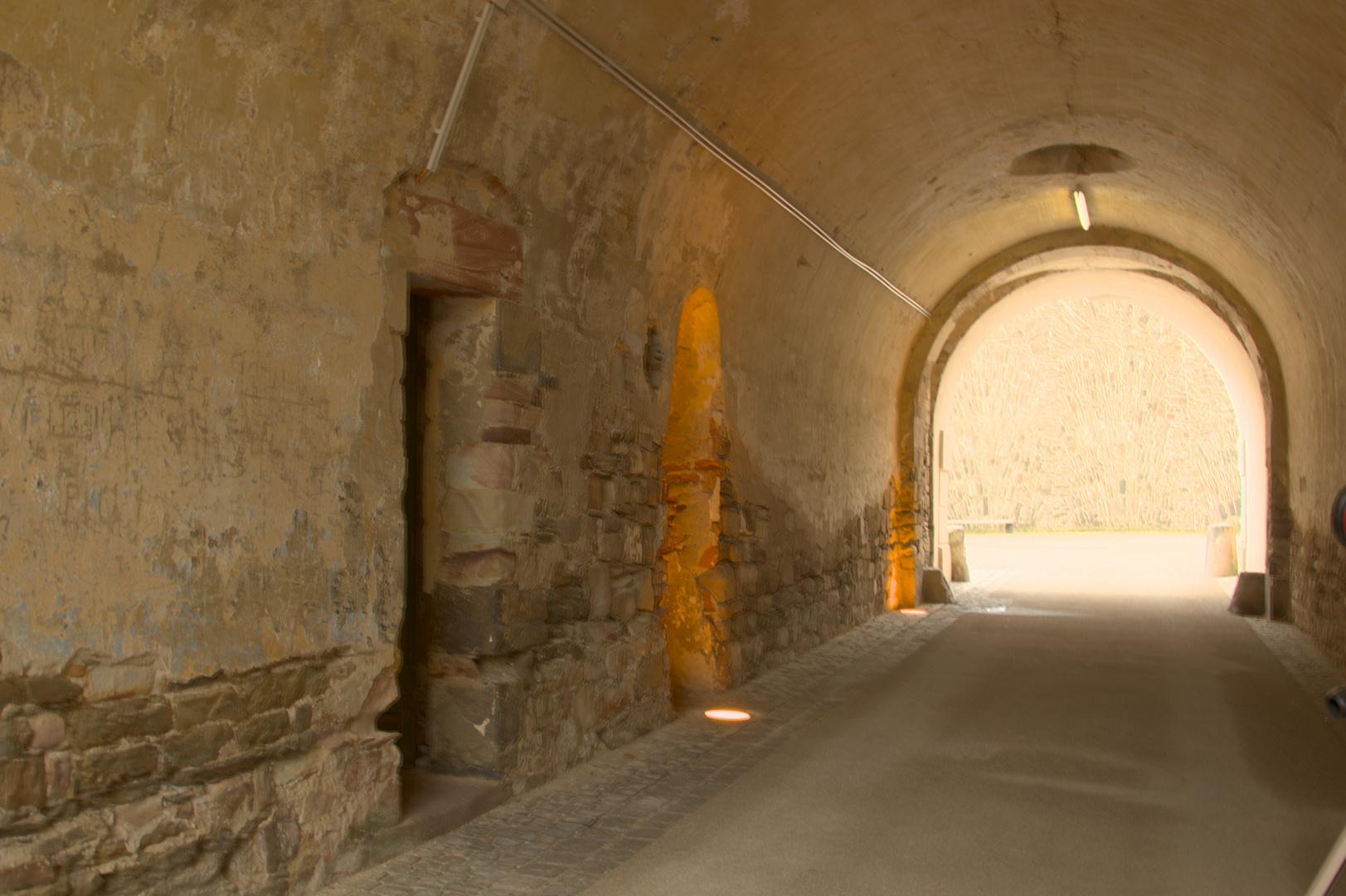 Tunnel auf der Ehrenbreitstein