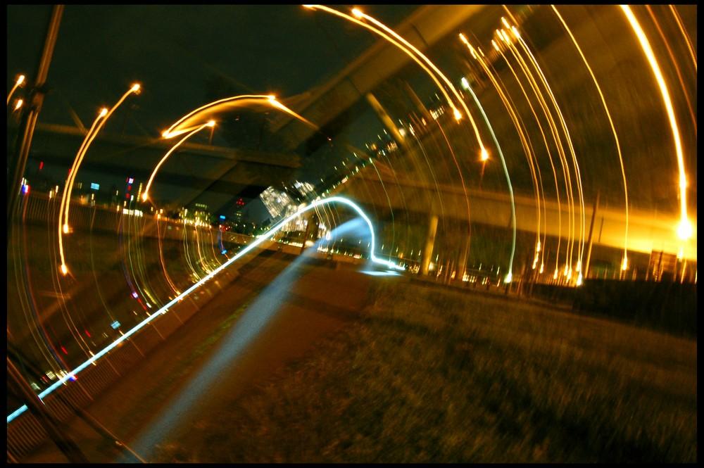 Tunnel aus Licht