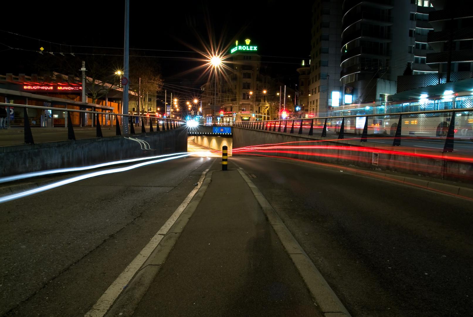 Tunnel Chauderon, Lausanne