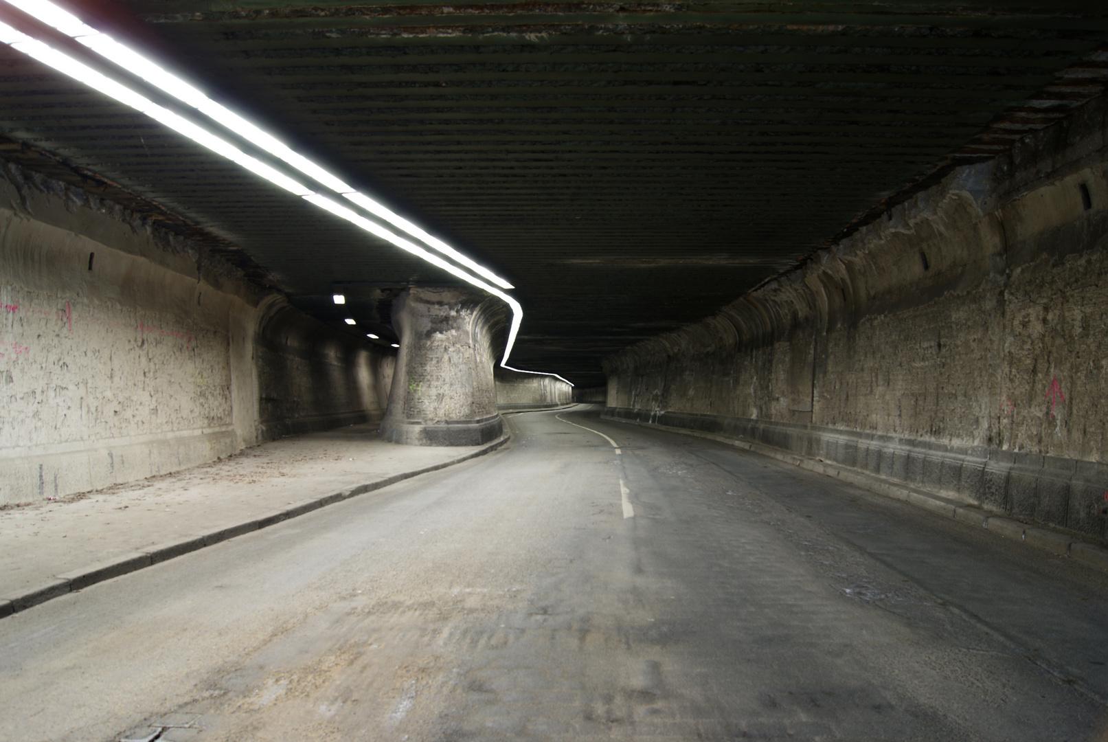 Tunnel - Krupp Stahlwerk Duisburg 2