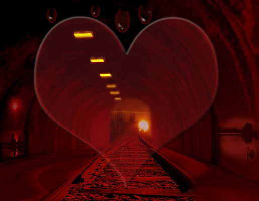 Tunnel of love....
