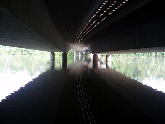 tunnel under the bridge