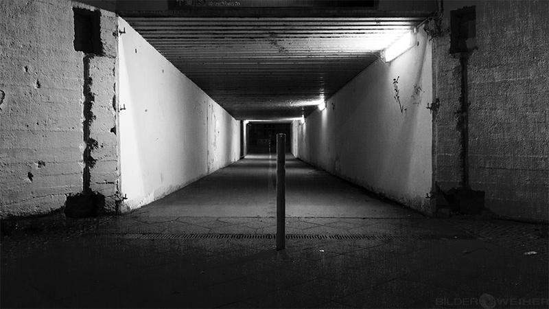 Tunnel zum Bahnhof Karlshorst in Berlin