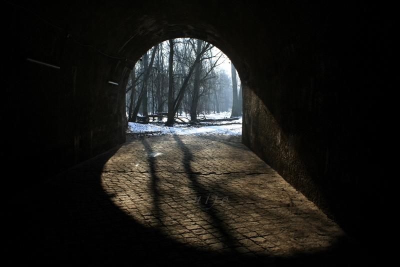 Tunnel(aus)blick