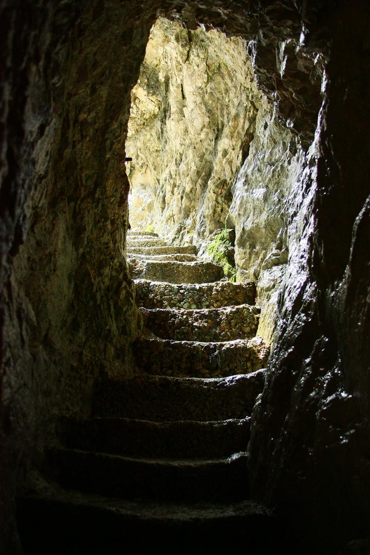 Tunnelausgang (Schluchtenweg)