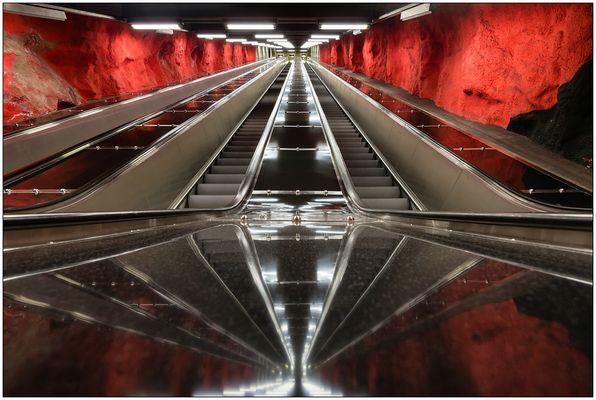 Tunnelbana - Solna Centrum