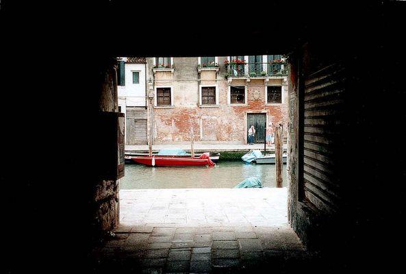 Tunnelblick nach Venedig