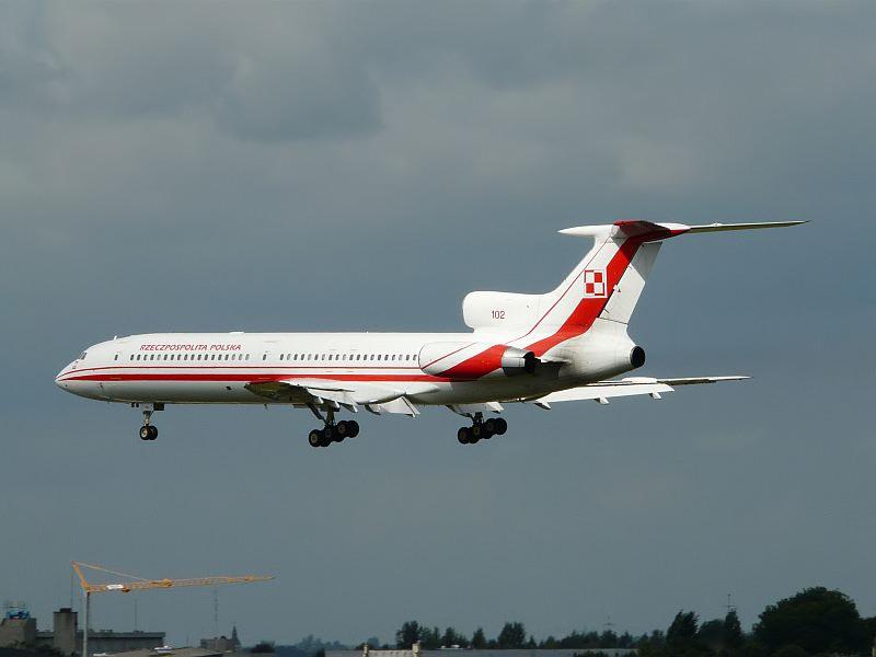 Tupolev TU-154 Polnische Regierung