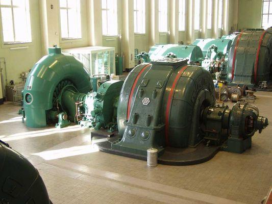 Turbine im Walchensee Wasserkraftwerk