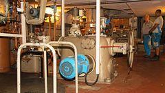 Turbine mit Arbeiter