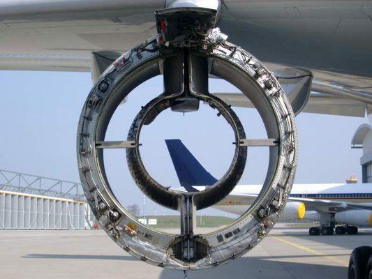 Turbine mit Durchblick