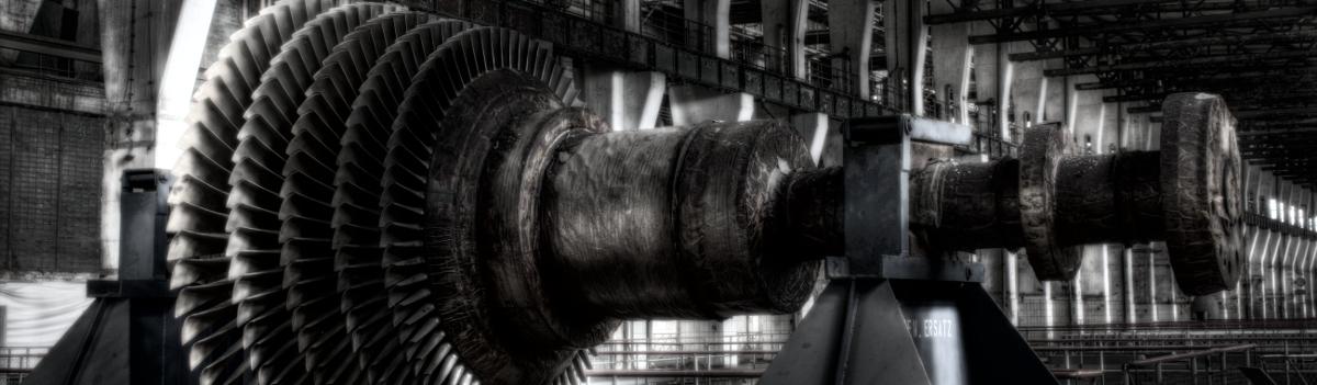 Turbinenrad Kraftwerk Vockerode