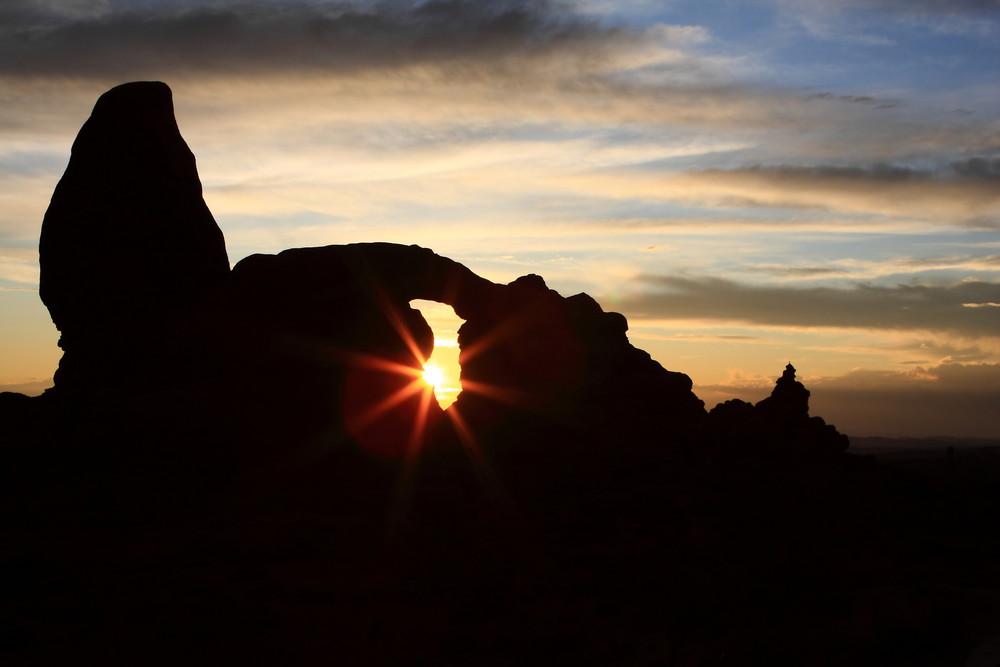 Turett Arch Sunset