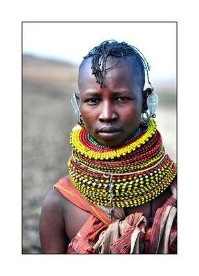 Turkana Woman...........