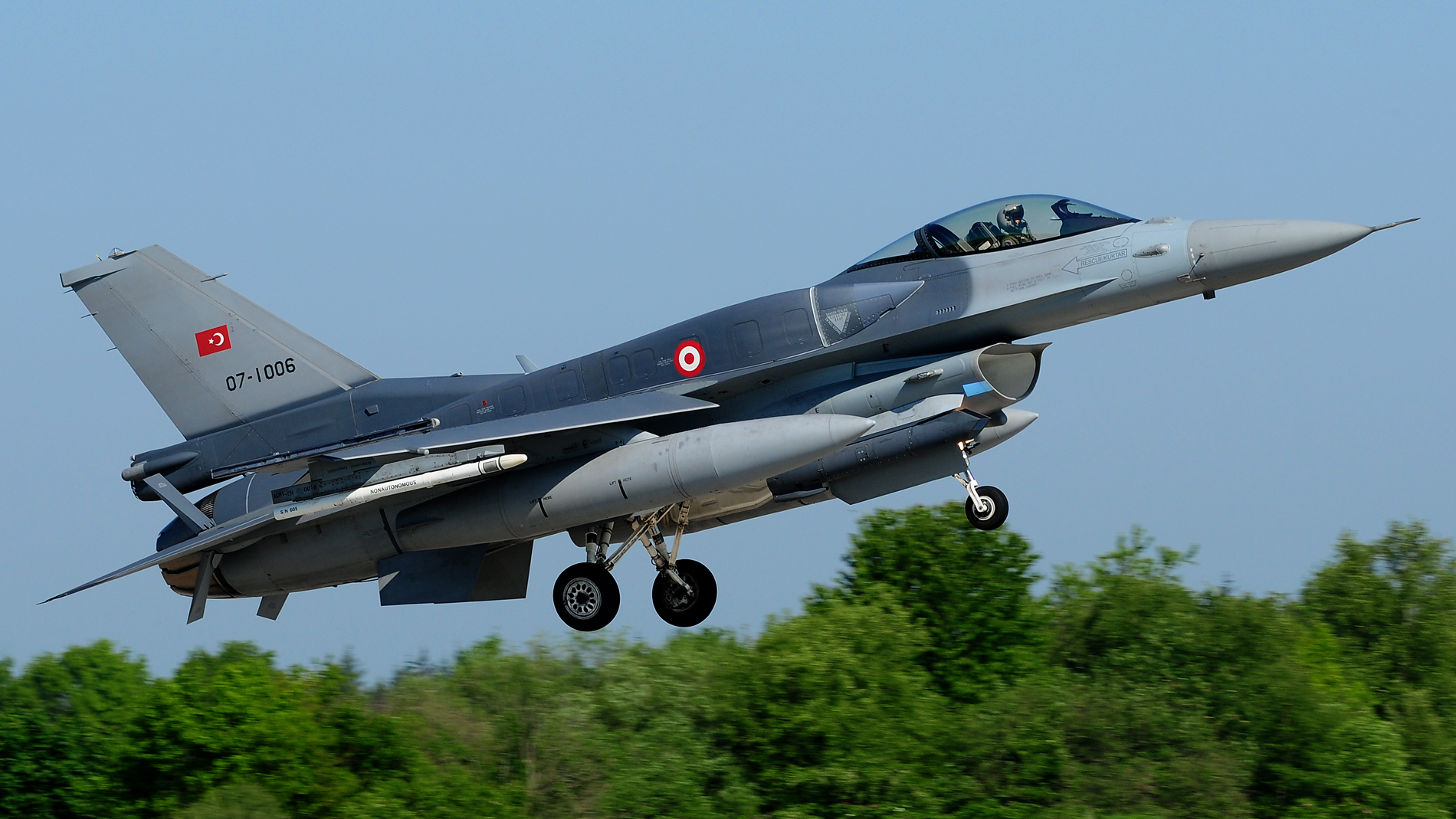Turkish Air Force 07-1006