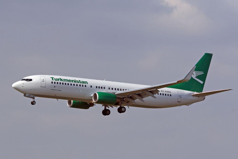 Turkmenistan Airlines Boeing 737-82K (EZ-A005)