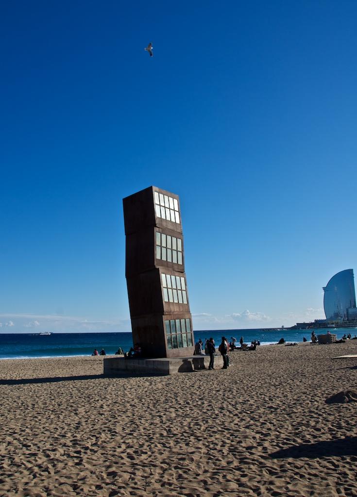 Turm am Strand
