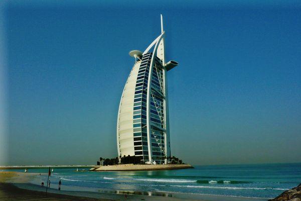 """""""Turm der Araber"""" im März"""