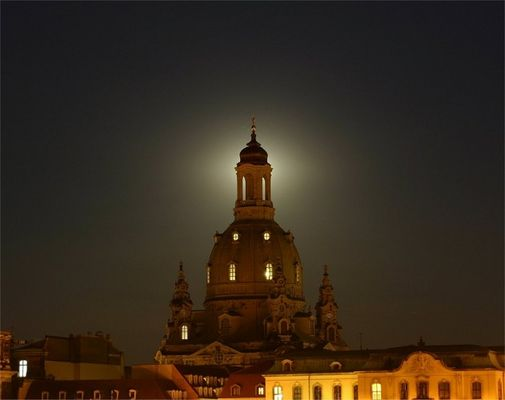 Turm der Frauenkirche in Dresden