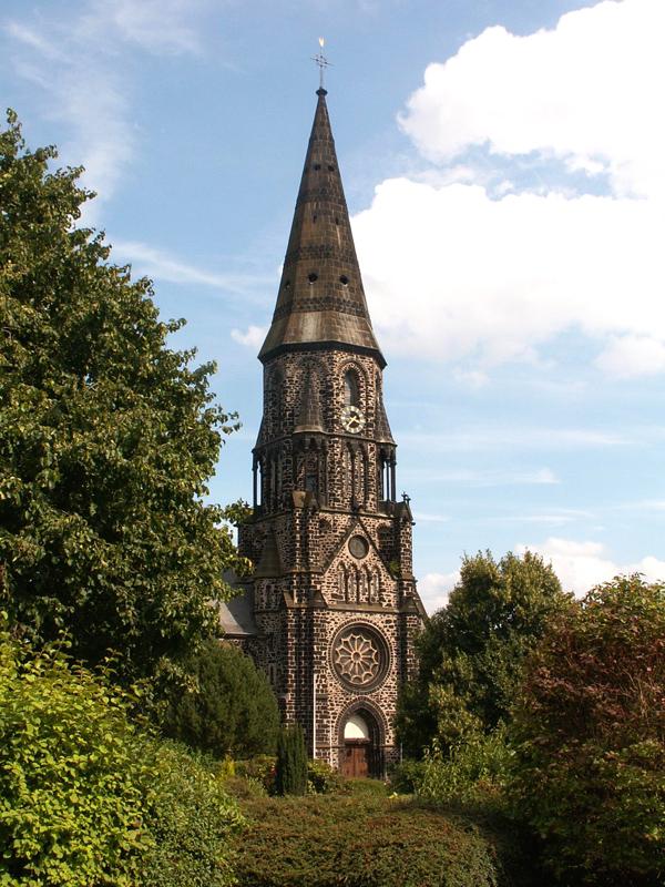 Turm der Kath.Pfarrkirche Koblenz-Rübenach