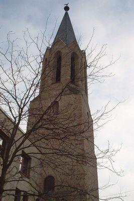 Turm der Kirche in Bad Kreuznach