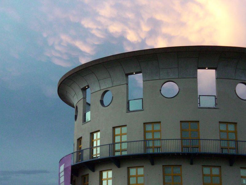 Turm der Musikhochschule Stuttgart