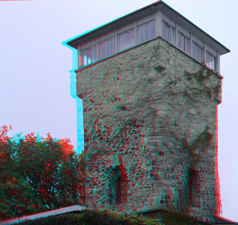 Turm des Exotariums im Frankfurter Zoo