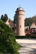 Turm des Wasserschloss Mespelbrunn