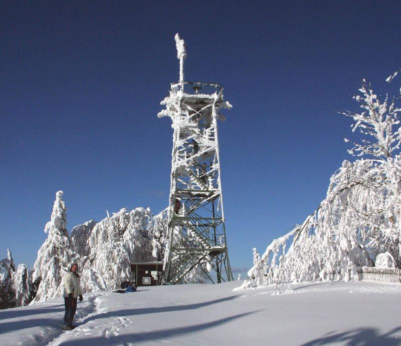 Turm im Eis