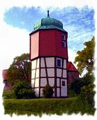 Turm im Klosterhof von Marienrode/Hildesheim