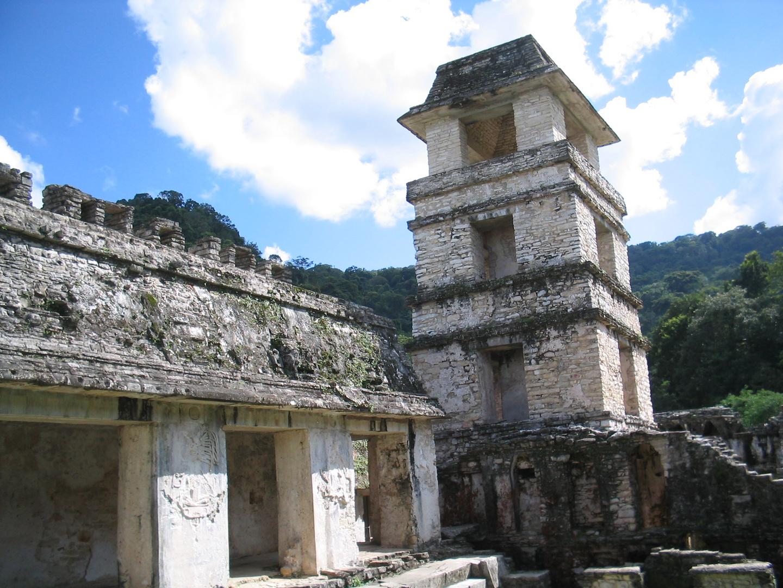 Turm in Palenque