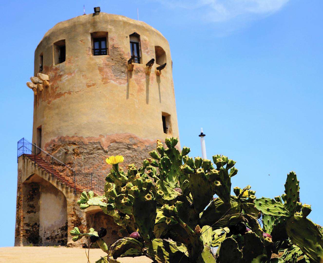 Turm in Sardinien