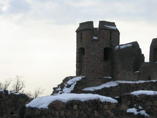 Turm, Schloss Auerbach