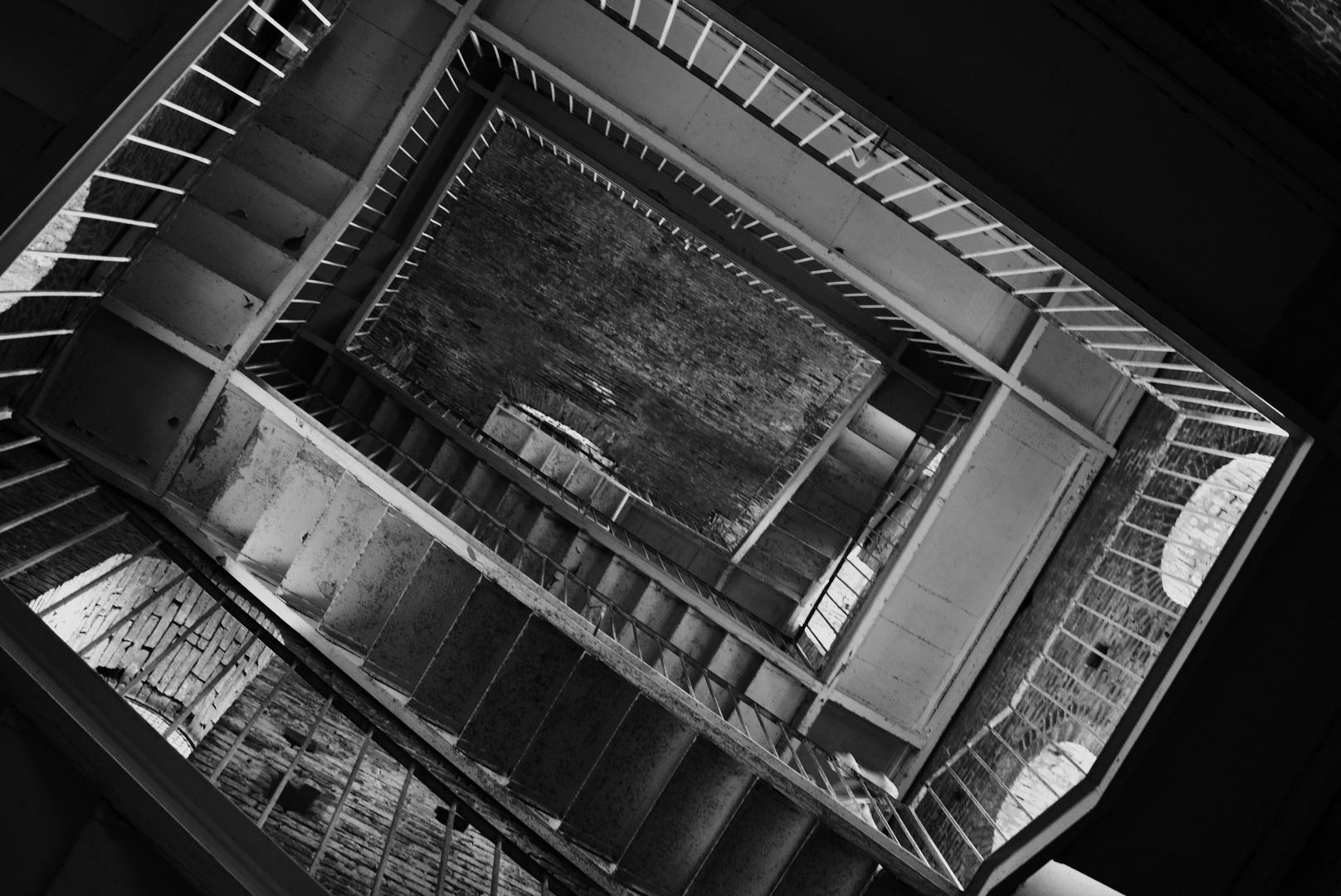 Turm-Treppenhaus