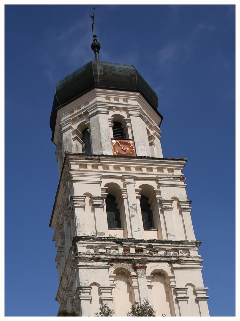 Turm und Turmuhr