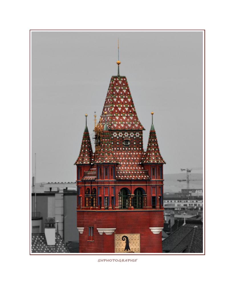 Turm vom Rathaus Basel