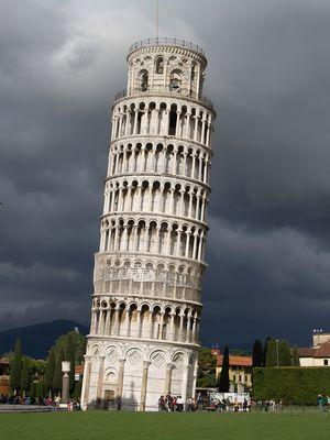 Turm vor dem Sturm