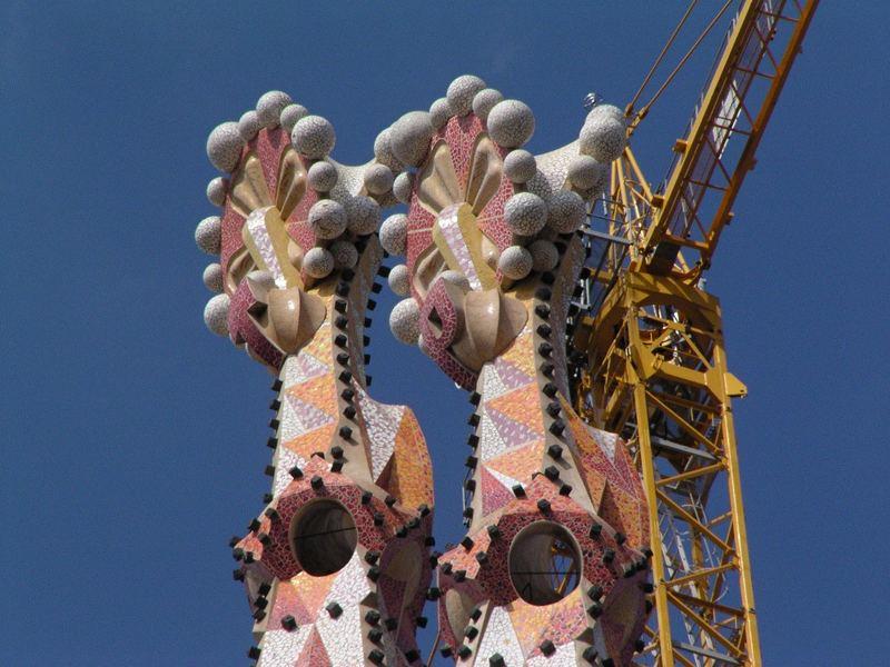 Turmspitzen der Sagrada Familia