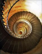 Turmtreppenhaus ... und gehst du nur im Kreis ...
