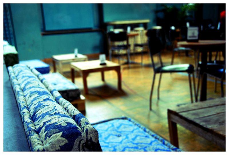 """""""Turnhalle"""" - Café in einer historisch alten Turnhalle"""