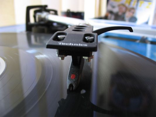 turntable rotating