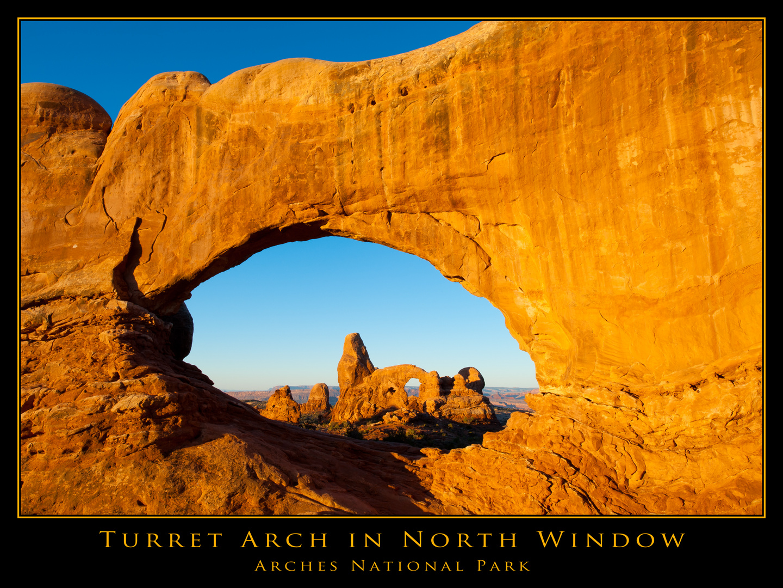 Turret Arch bei Sonnenaufgang